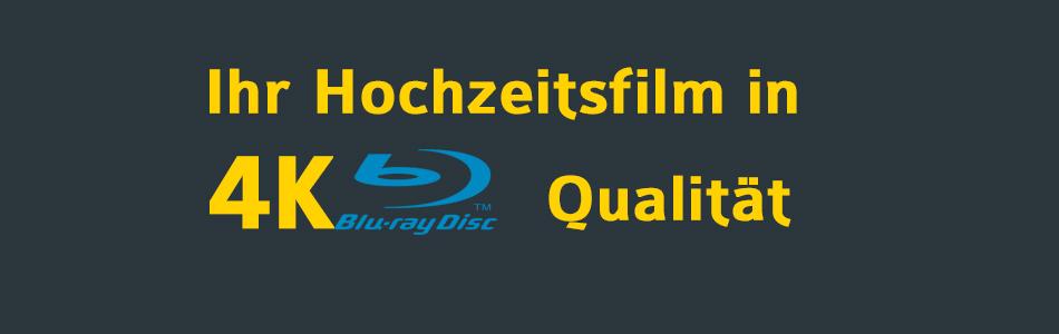 Ihr Hochzeitsfilm in Ultra HD (4k) – Qualität für die Zukunft!