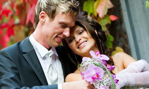 Hochzeit in Szene