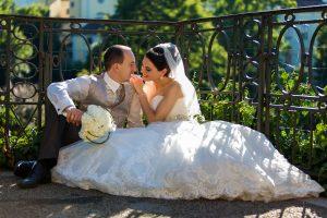 Brautpaarshooting Hochzeit